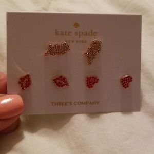 Three's Company Earring Set